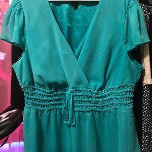 Tops - Women's Kelly Green Lane Bryant blouse size 14/16
